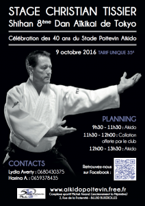 Stage Christian TISSIER Shihan à Poitiers